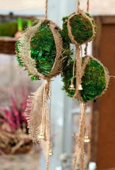 Home decorating ideas: Moss balls