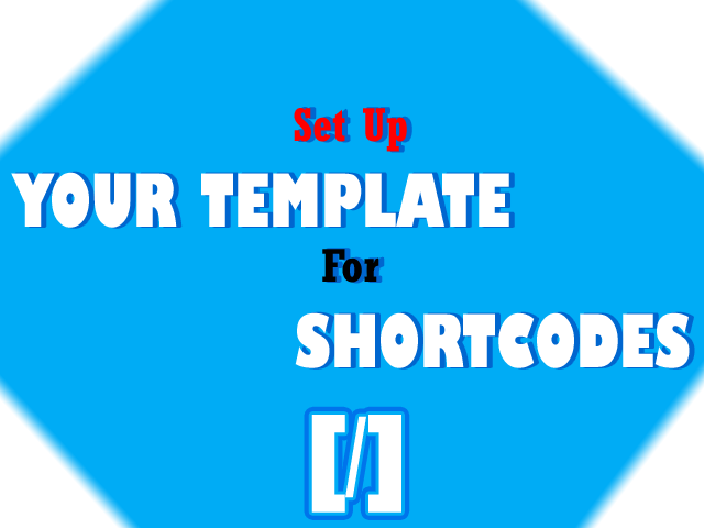 Use Shortcodes With One script!