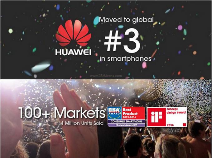 Huawei es el segundo mayor fabricante Android