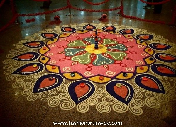 pics Top 10 North Indian Rangoli Designs To Try In 2019