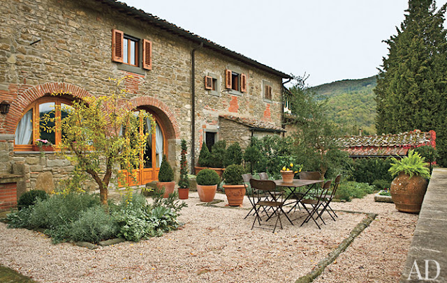 Madison muse villas in tuscany for Rustic tuscan house plans