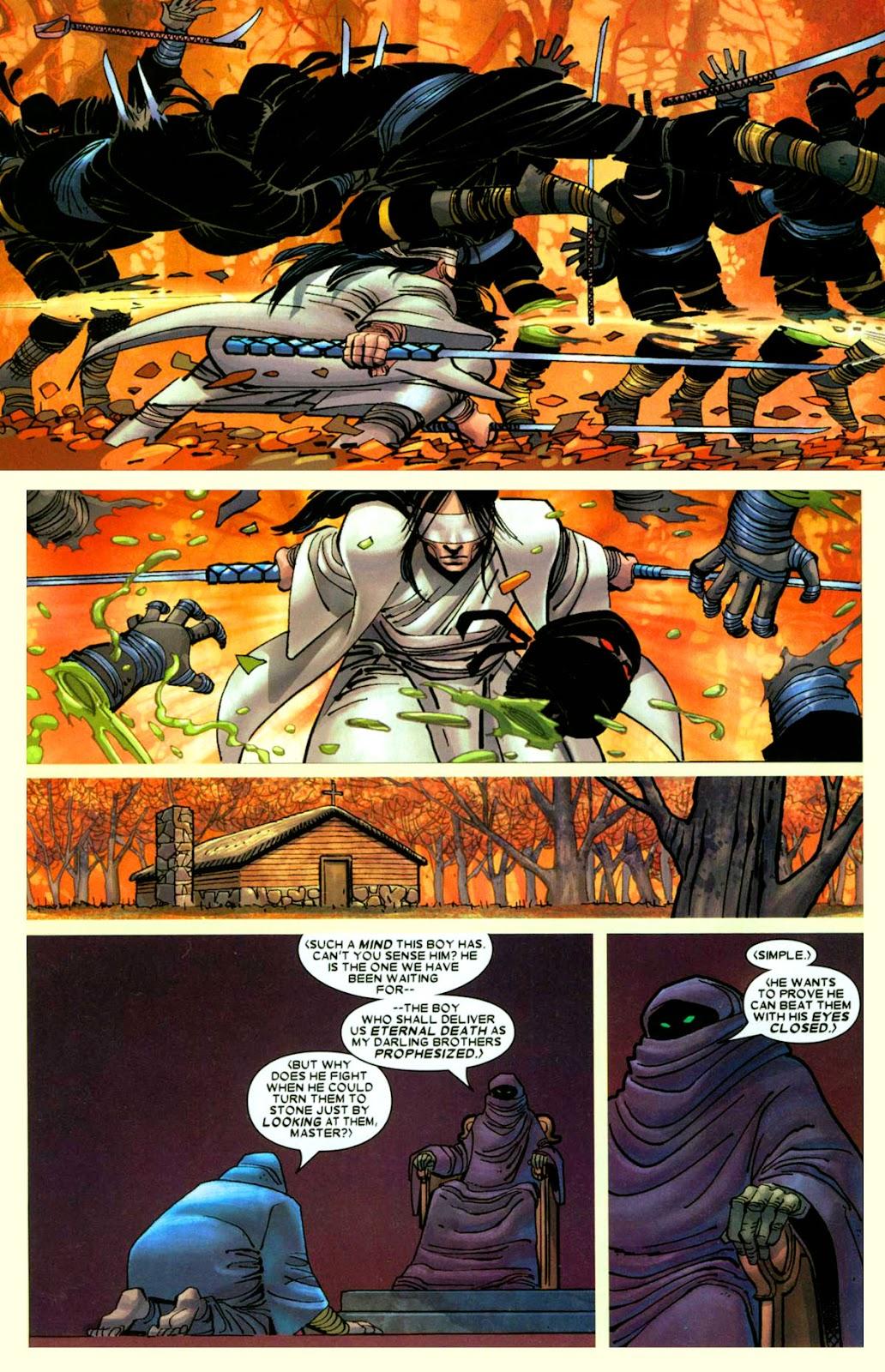 Read online Wolverine (2003) comic -  Issue #26 - 5