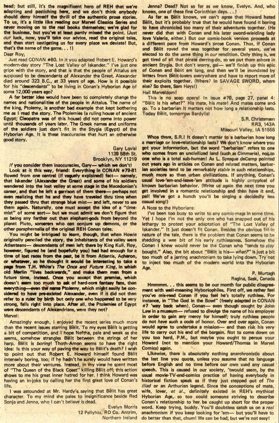 Conan the Barbarian (1970) Issue #85 #97 - English 22
