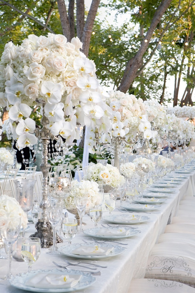 Table settings can make such a huge and lasting impression. It is a very important part of making your wedding memorable. Here are a few very elegant ... & Bobka Baby and Bridal: Elegant Table Settings For An Elegant Wedding