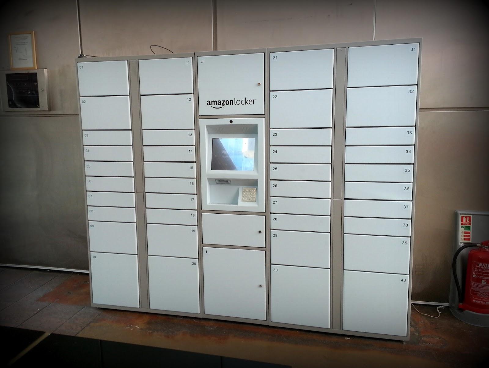 amazon locker at o2 centre mall minority report. Black Bedroom Furniture Sets. Home Design Ideas