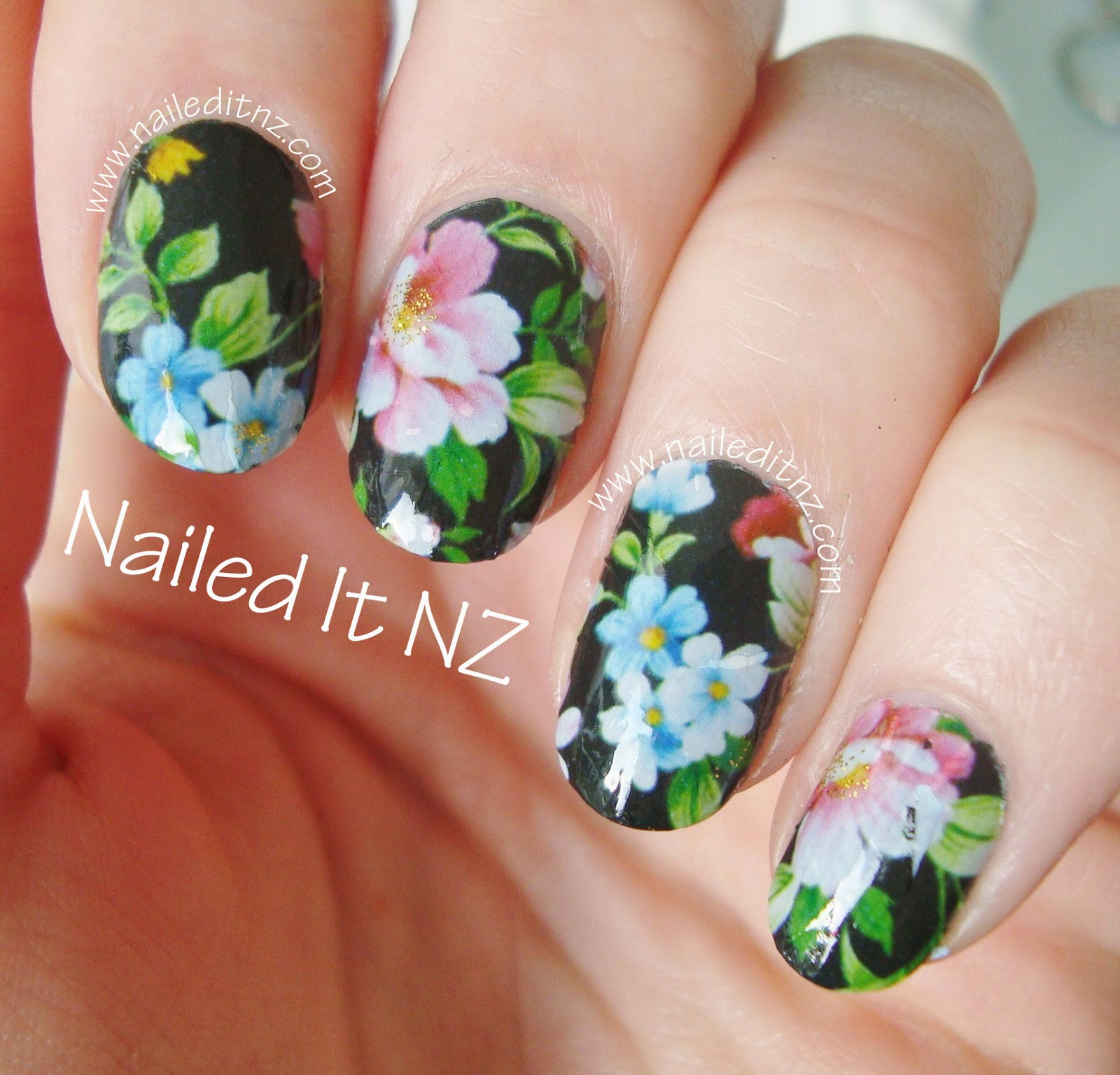 Floral Nail Decals | BPS Review