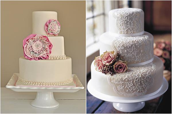 Resultado de imagem para bolos de casamento vintage
