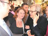 io e sgarbi vinitaly 2011