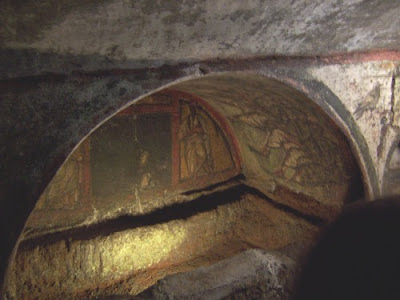 Las Catacumbas de Roma - Italia. Lugares Sorprendentes de Italia. Roma. Turismo en Roma. Que visitar en Roma. Lugares de interes de Roma