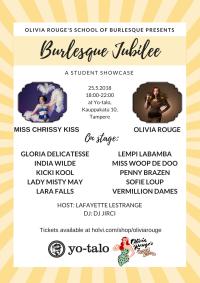 Burlesque Jubilee! oppilasnäytös