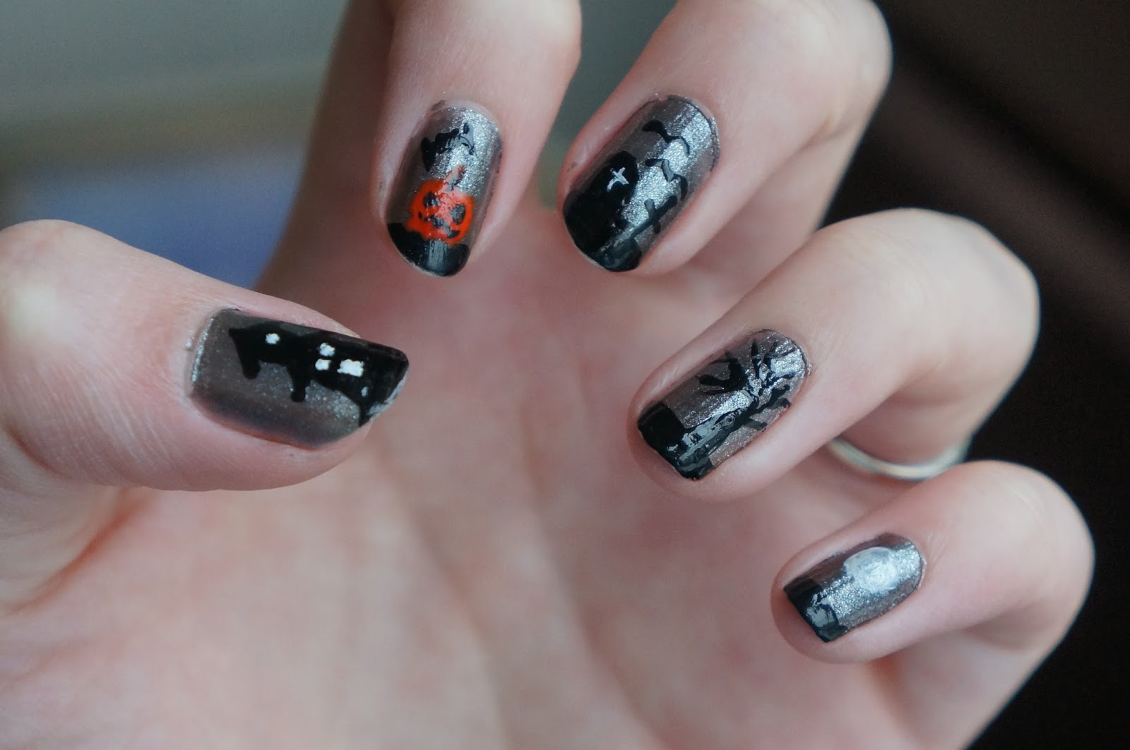Lollys Nail Paints Halloween Nails