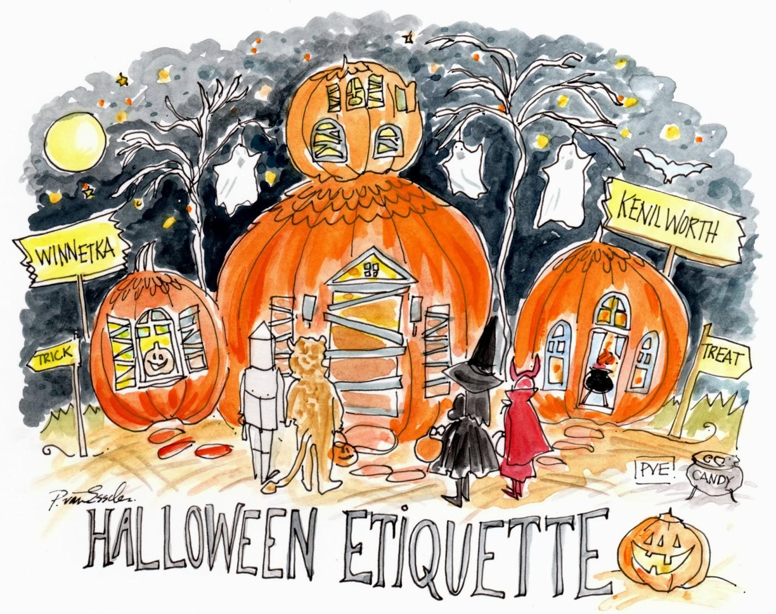 pve: Halloween Etiquette