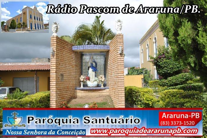 Rádio Pascom de Araruna-PB.