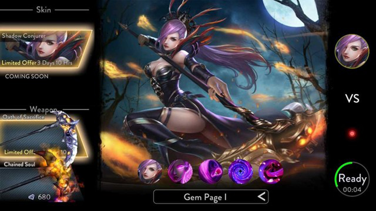 Ace of Arenas MOBA Gameplay IOS / Android