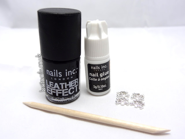 Nails Inc Bling It On Leather and Skulls Noho