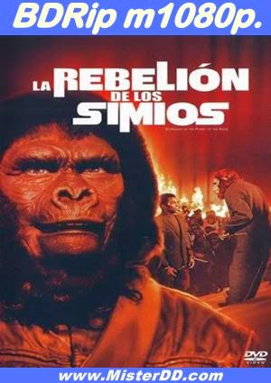 La rebelión de los simios (1972) [BDRip m1080p.]