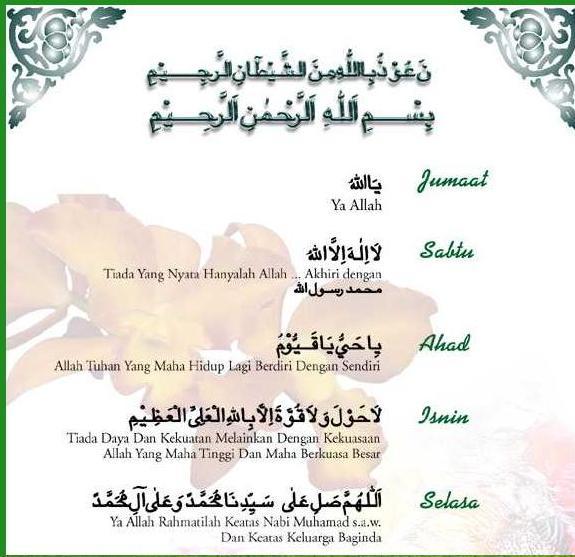 Zikir Harian Imam Al Ghazali Pictures