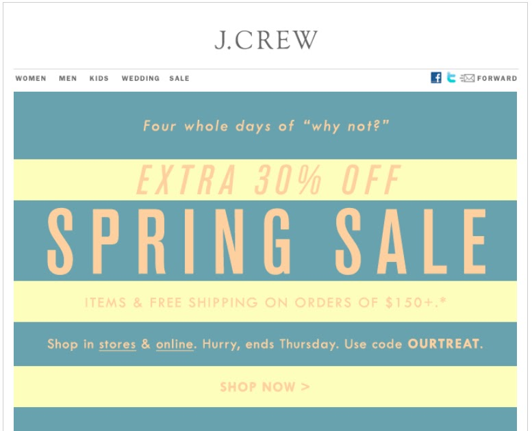 Jcrew coupon codes