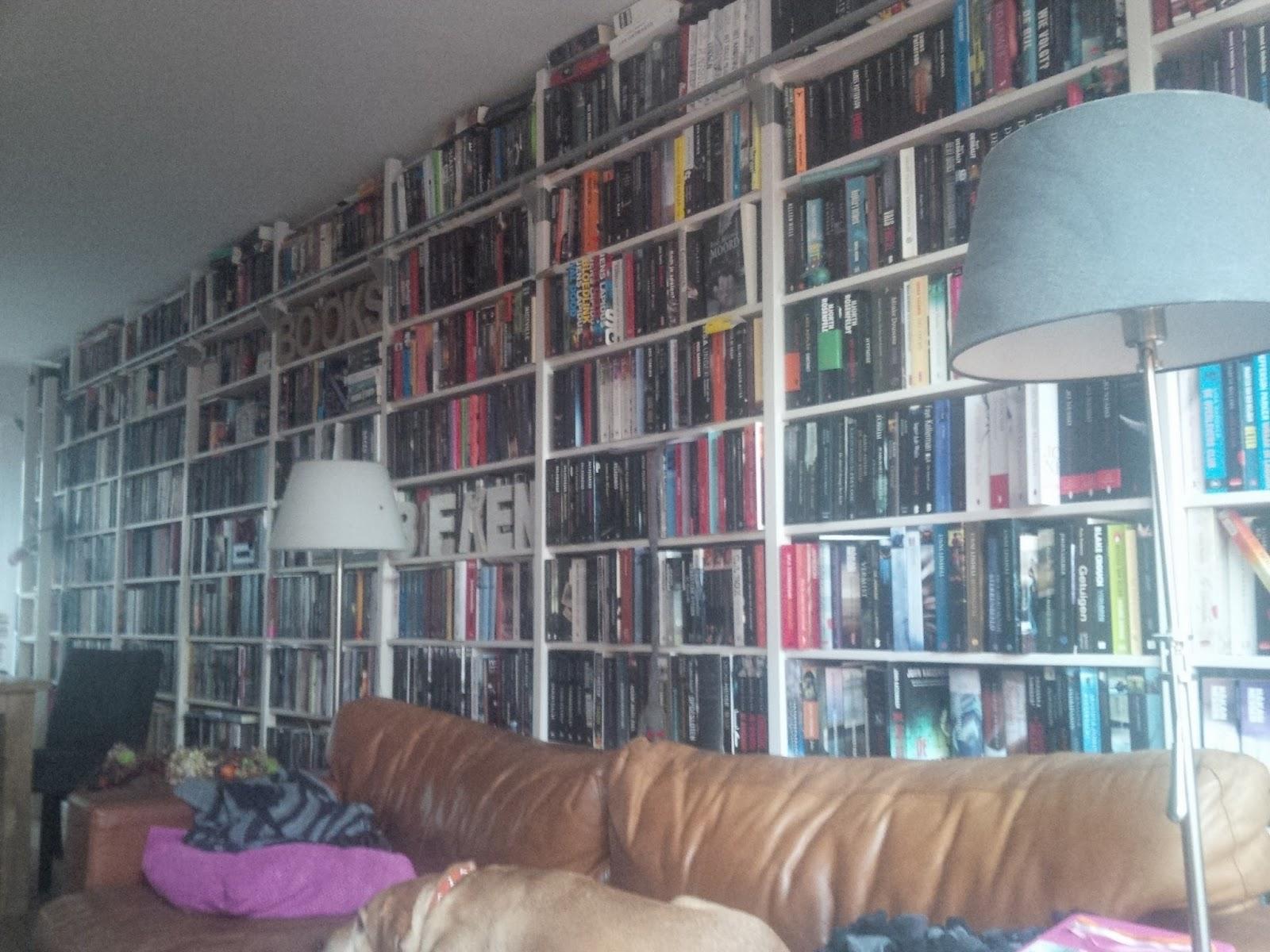 Thrillerlezersblog: De boekenkast van Inkie