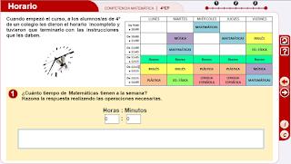 http://www.primerodecarlos.com/CUARTO_PRIMARIA/JUNIO/competencias/competencia_matematica4/4EP_CM_horario-JS/index.html