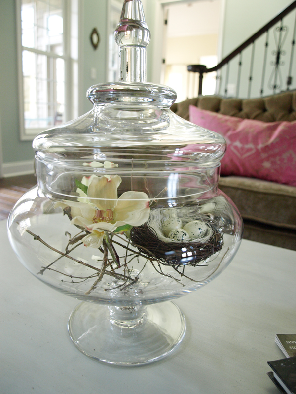 Simple Spring Decorating Less Than Perfect Life Of Bliss