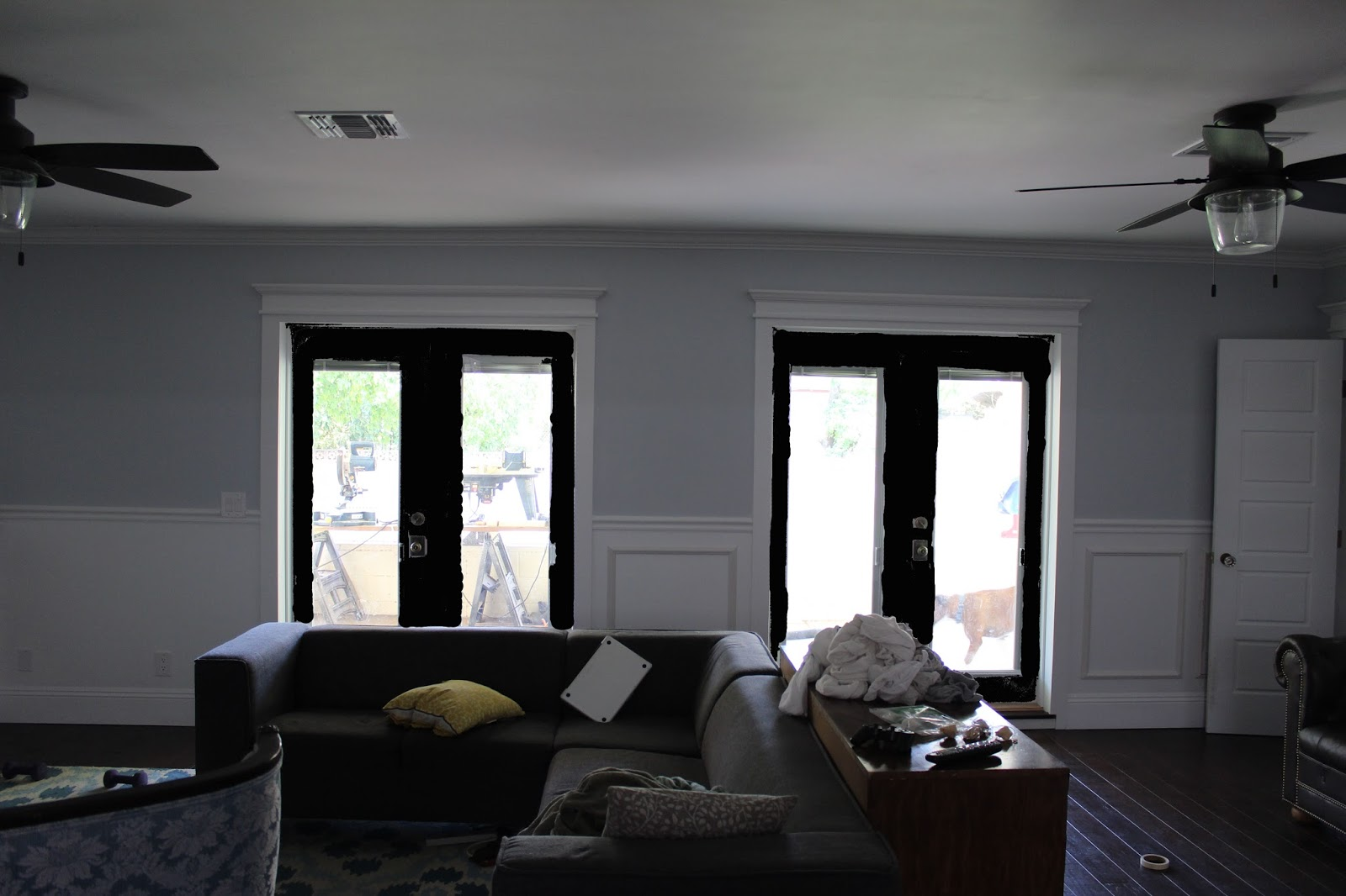 Choosing a color for french doors dream book design choosing a color for french doors planetlyrics Image collections