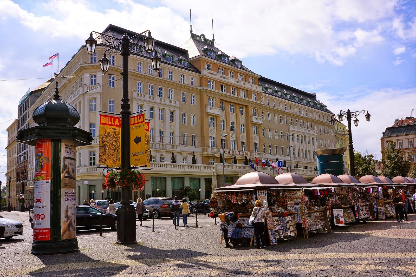 Picture of Radisson Blu Carlton Hotel in Bratislava.