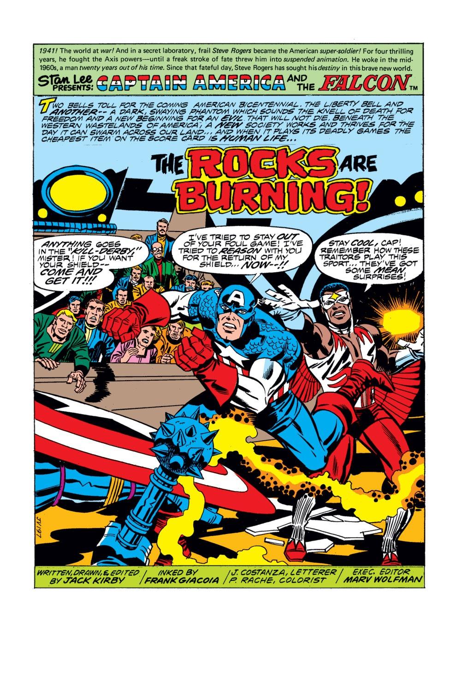 Captain America (1968) Issue #197 #111 - English 2