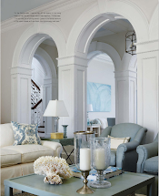 House Interior Colonial Arch