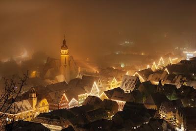 Ciudades conquistadas por la niebla - Albstadt, Alemania
