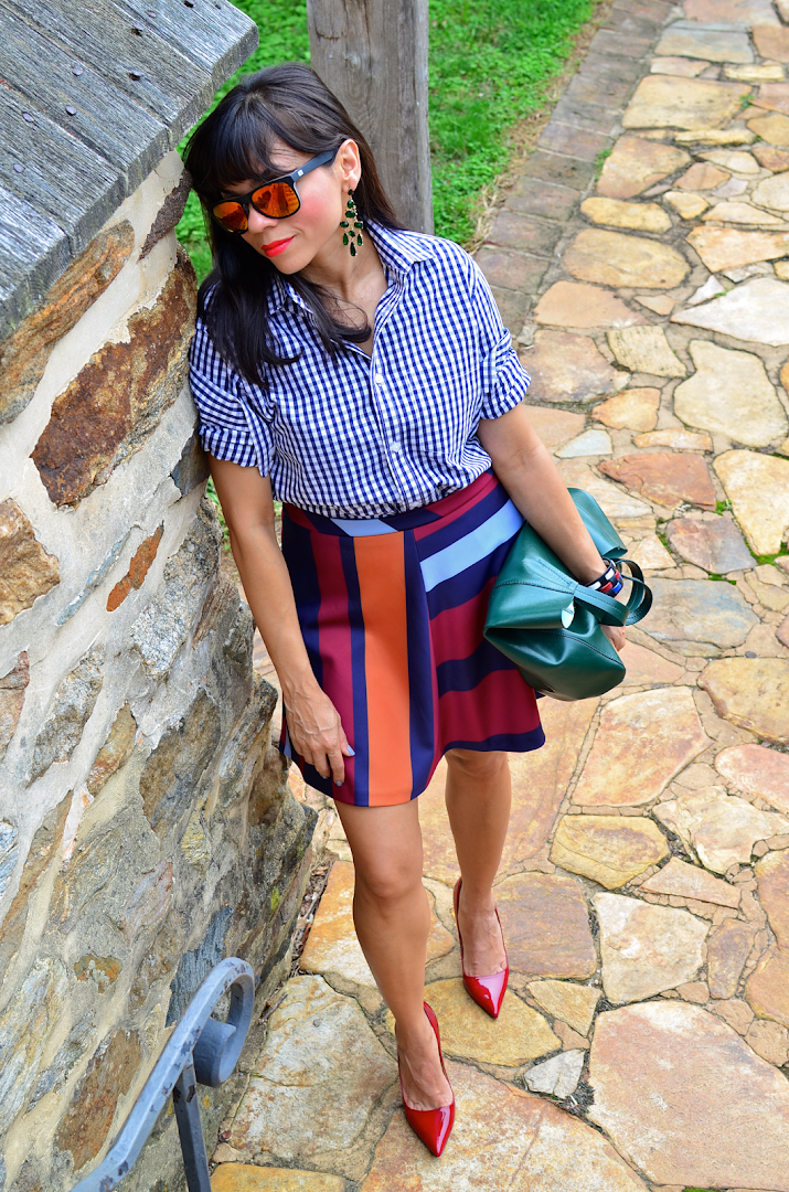 Jewel Colors Outfit
