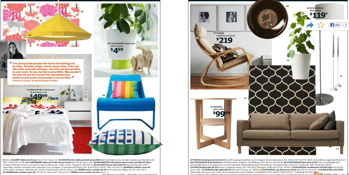 Quick Look At The 2014 IKEA Catalog I Am Loving It