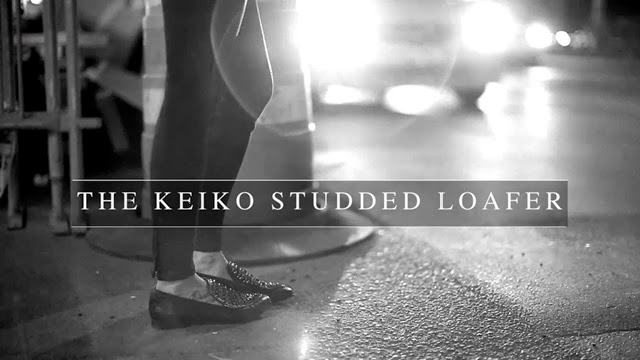 All Saints Below The Knee Collection | The Keiko Studded Loafer