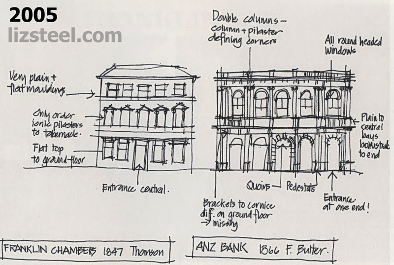 A Building I Have To Sketch Again In Hobart