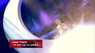 José María canta El sitio de mi recreo de Antonio Vega