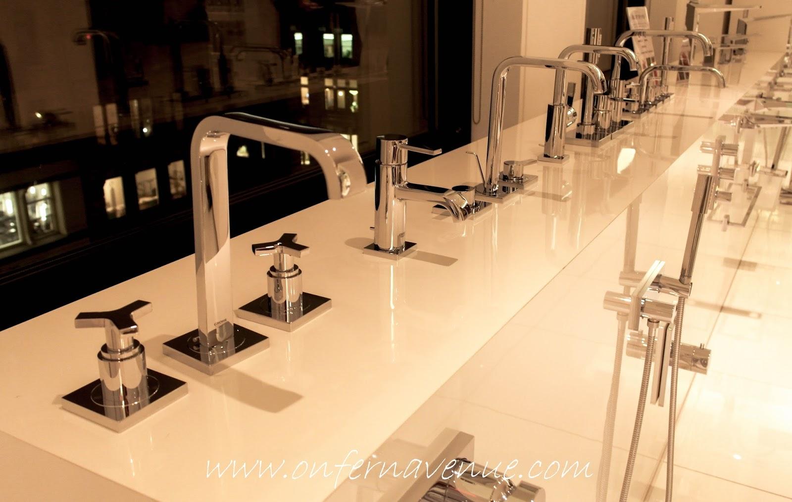 Grohe - Design Showroom & Blue Chill & Sparkling - Lynn Fern