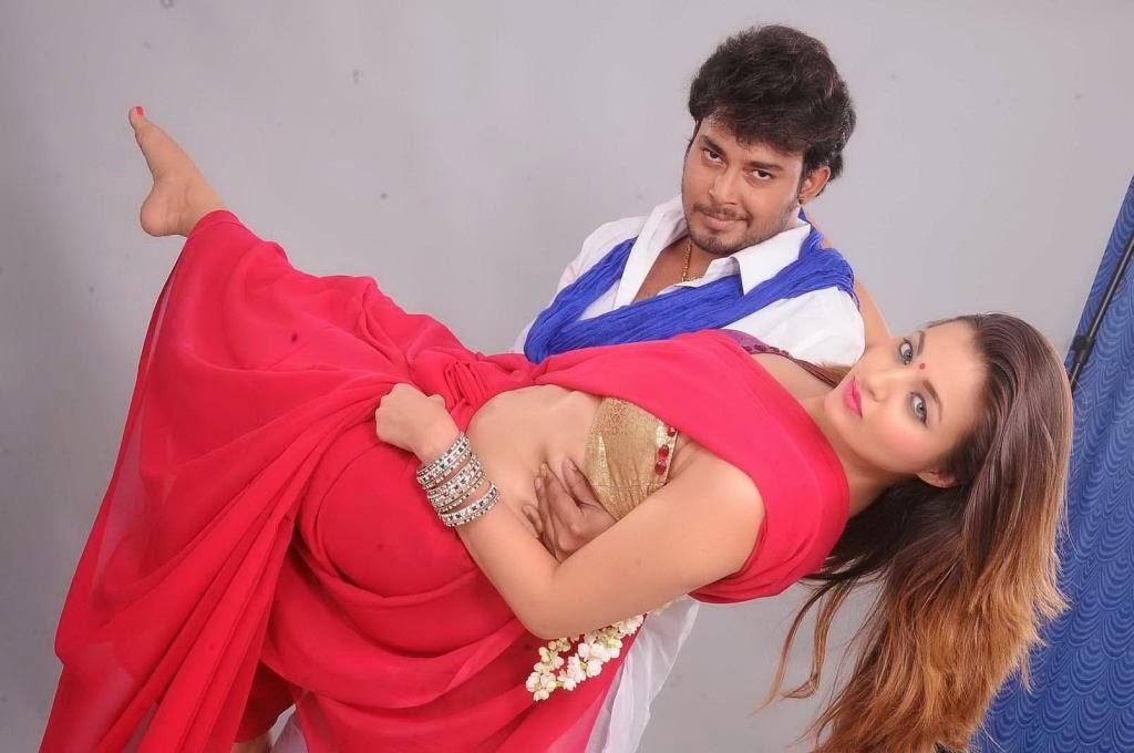 Actress hot saree photos from devadas style marchadu
