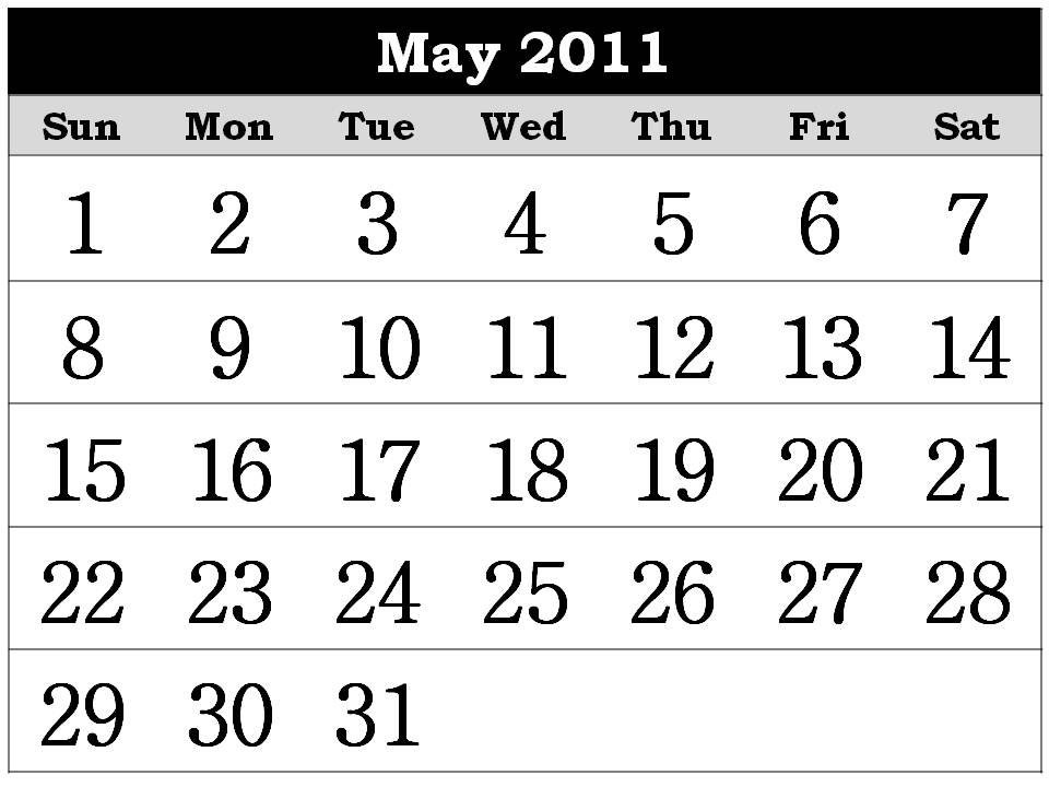 yearly calendar 2011. free yearly calendar 2011