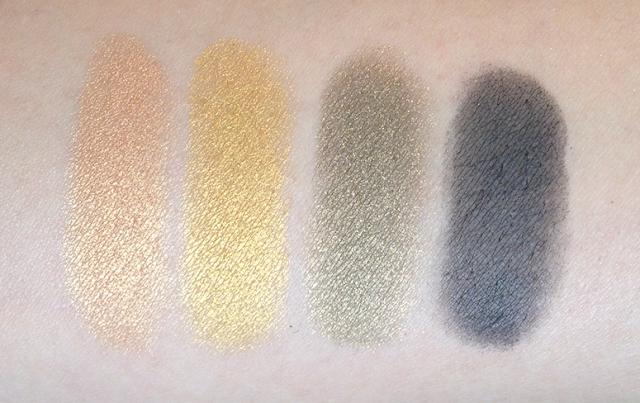 Maybelline Fall 2013 Collection Eyestudio Color Plush Silk Eyeshadow Palettes Desert Fantasy