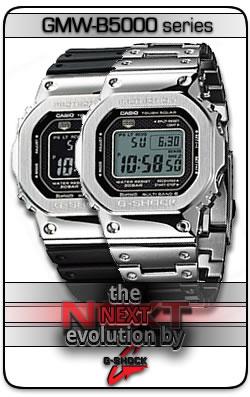 G-Shock GMW-B5000 Series