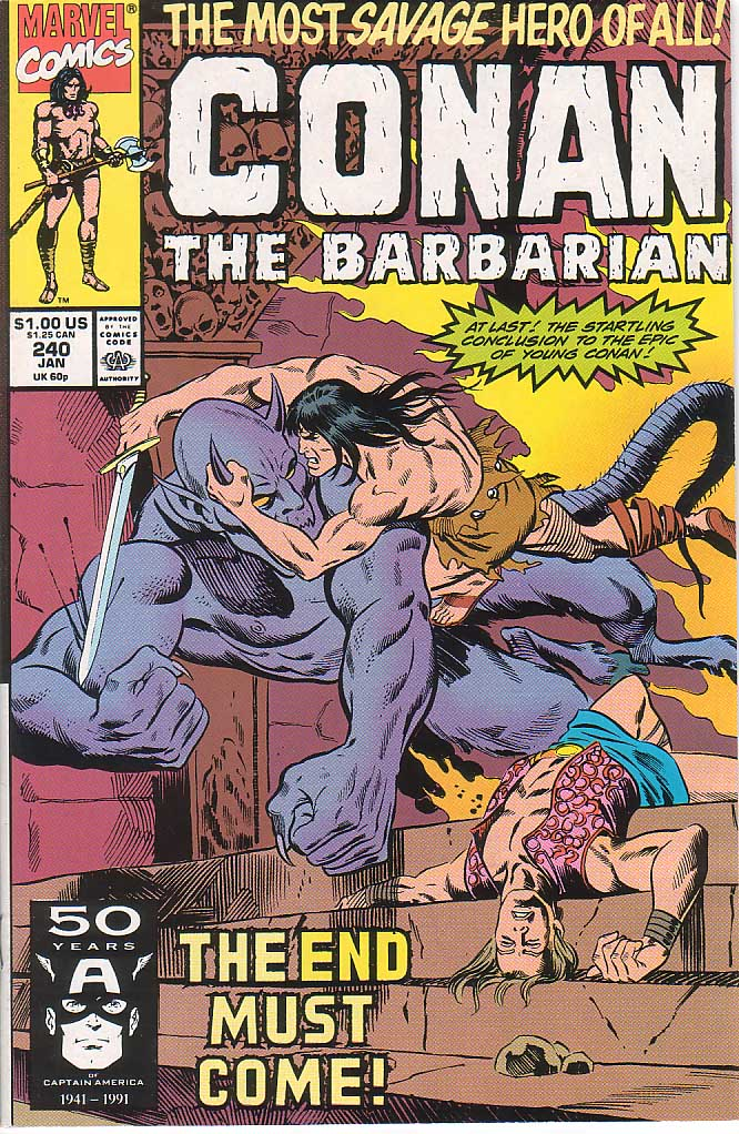 Conan the Barbarian (1970) Issue #240 #252 - English 1