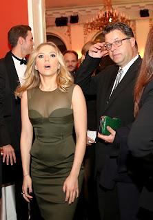 Scarlett Johansson looks surprised
