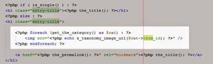 Taxonomy Images in Wordpress