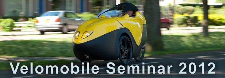 Velomobile Seminar 2014