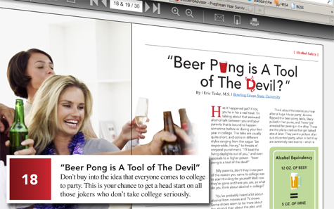 beer pong is a tool of the devil