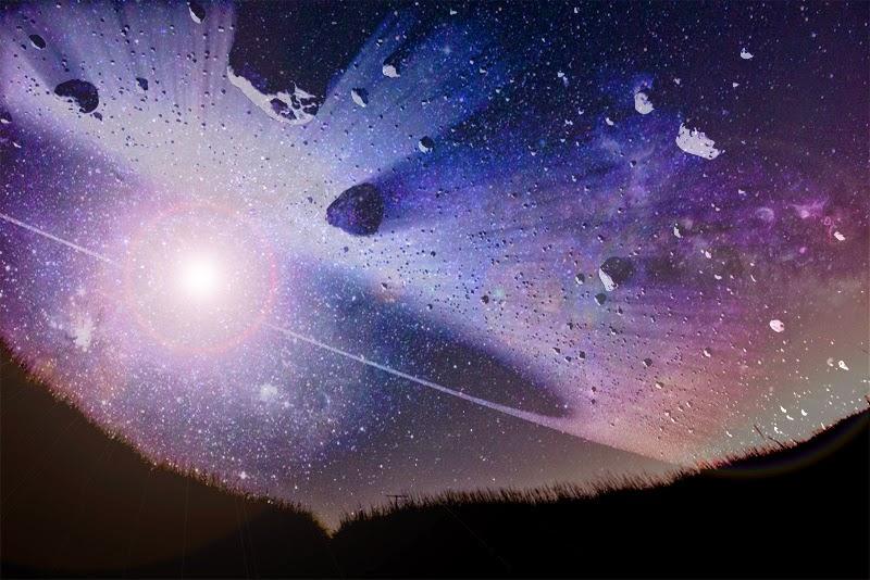 asteroides no céu