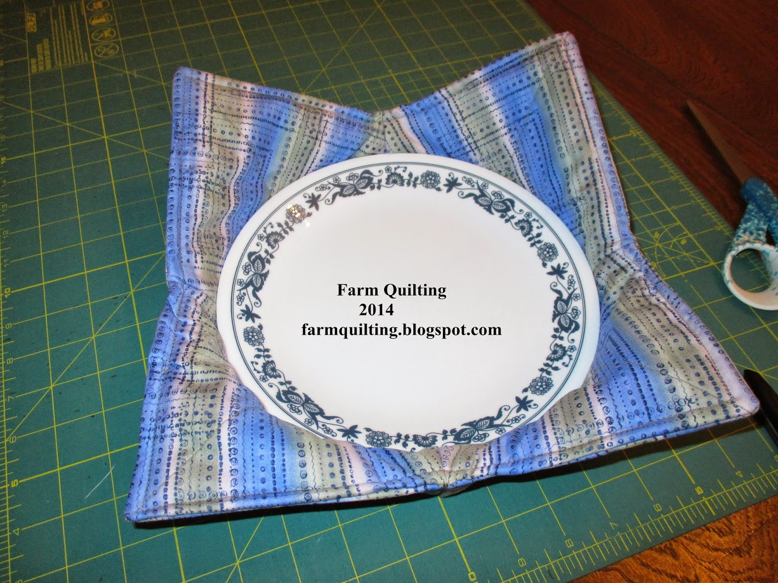 Microwave Plate Potholder Tutorial