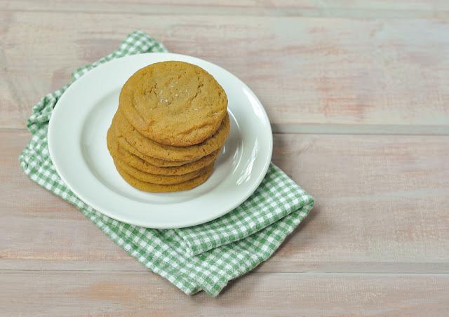 brown sugar & molasses sugar cookies - dairy free