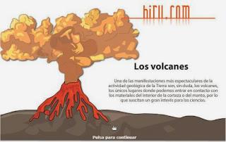 Los volcanes.