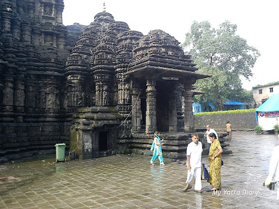 Main Entrance to the Lord Shiva Ambernath Temple in Maharastra